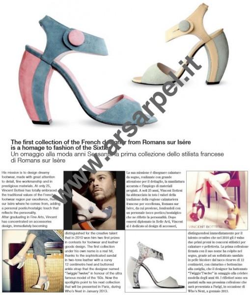 Ars Arpel, première collection de chaussures