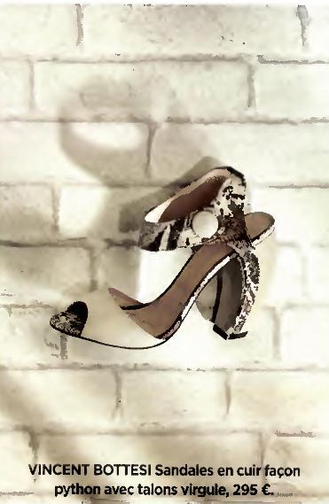 Le créateur de chaussures de luxe pour femme dans Gala