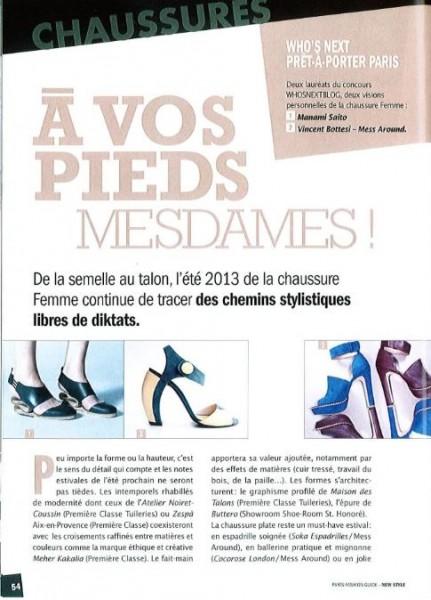 Le créateur de chaussures de luxe pour femme dans Newstyle