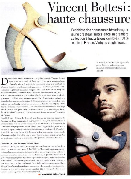 Le créateur de chaussures de luxe pour femme dans Beaux Quartiers