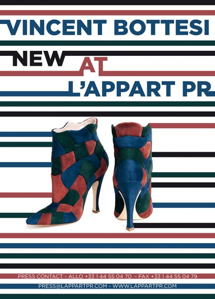 Vincent Bottesi NEW AT LAPPART PR