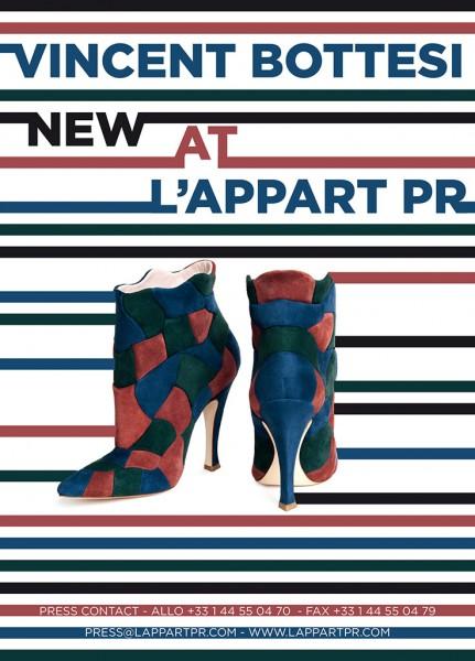 Vincent Bottesi NEW AT LAPPART PR